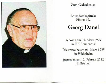 In Gedenken an Georg Danel